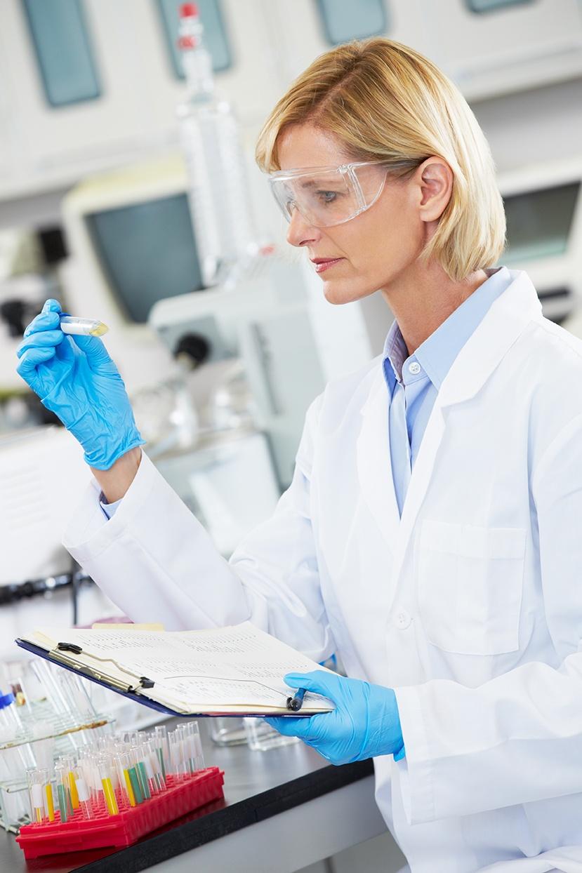 Quality Control scientist