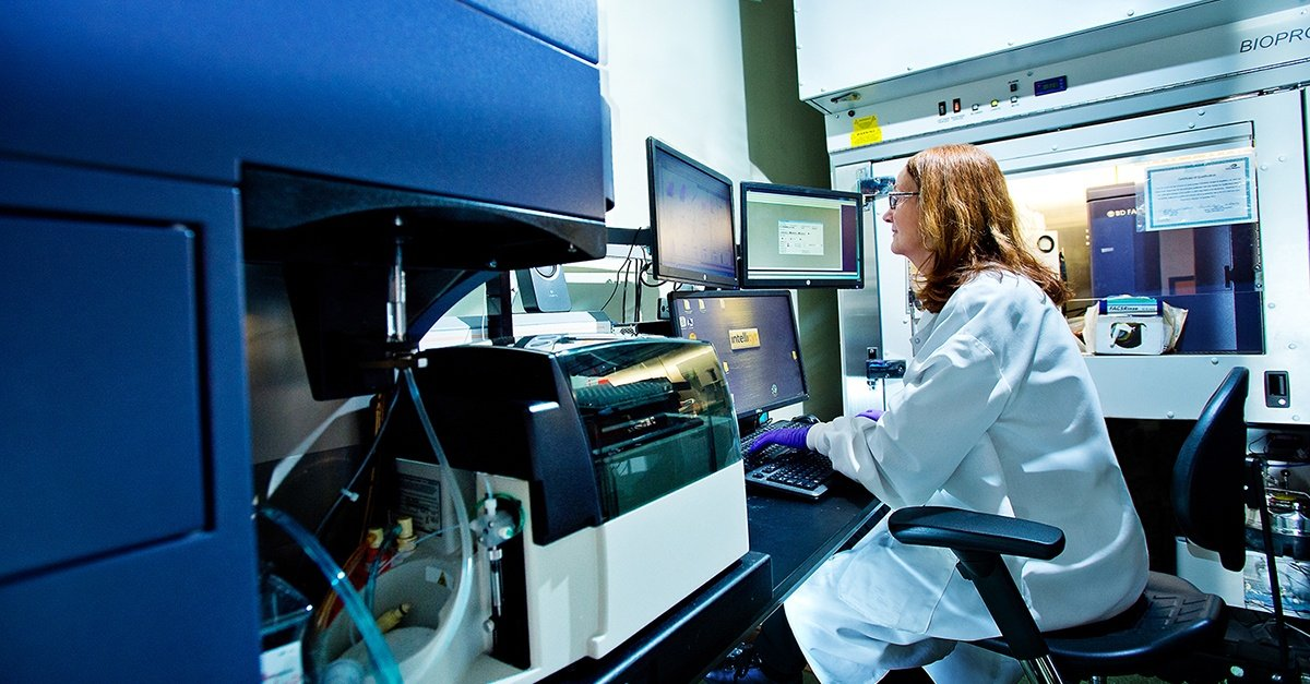 Accurate flow cytometry data relies on regular quality control checks.