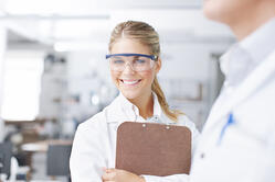 Scientist clip board