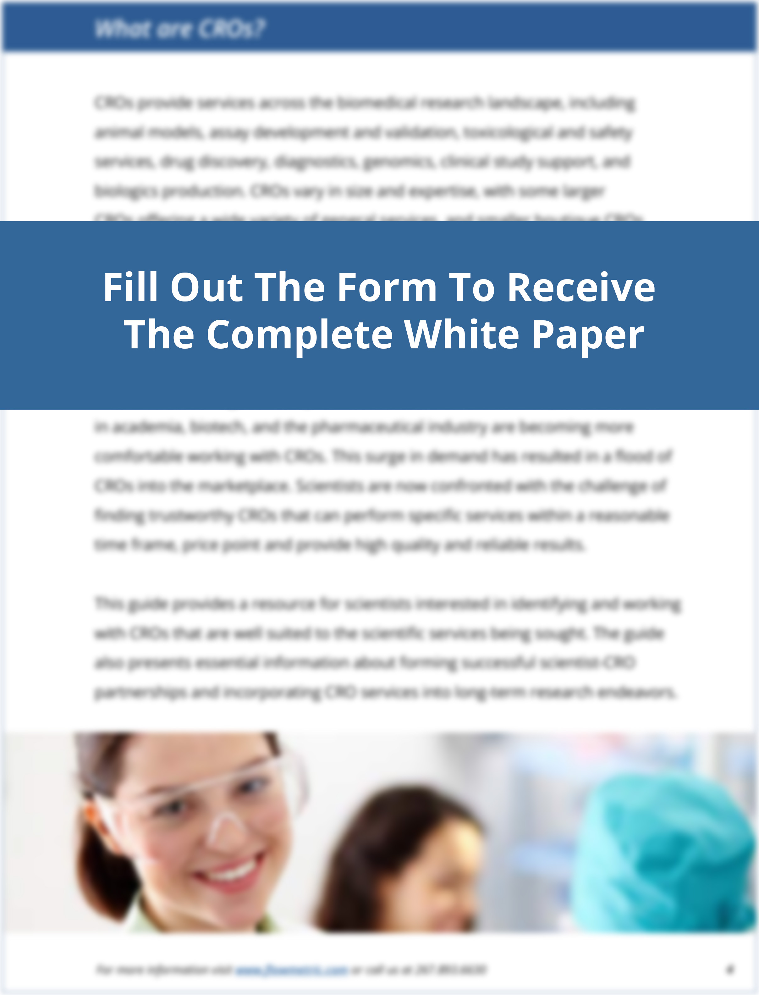 Outsourcing Flow Cytometry with a CRO